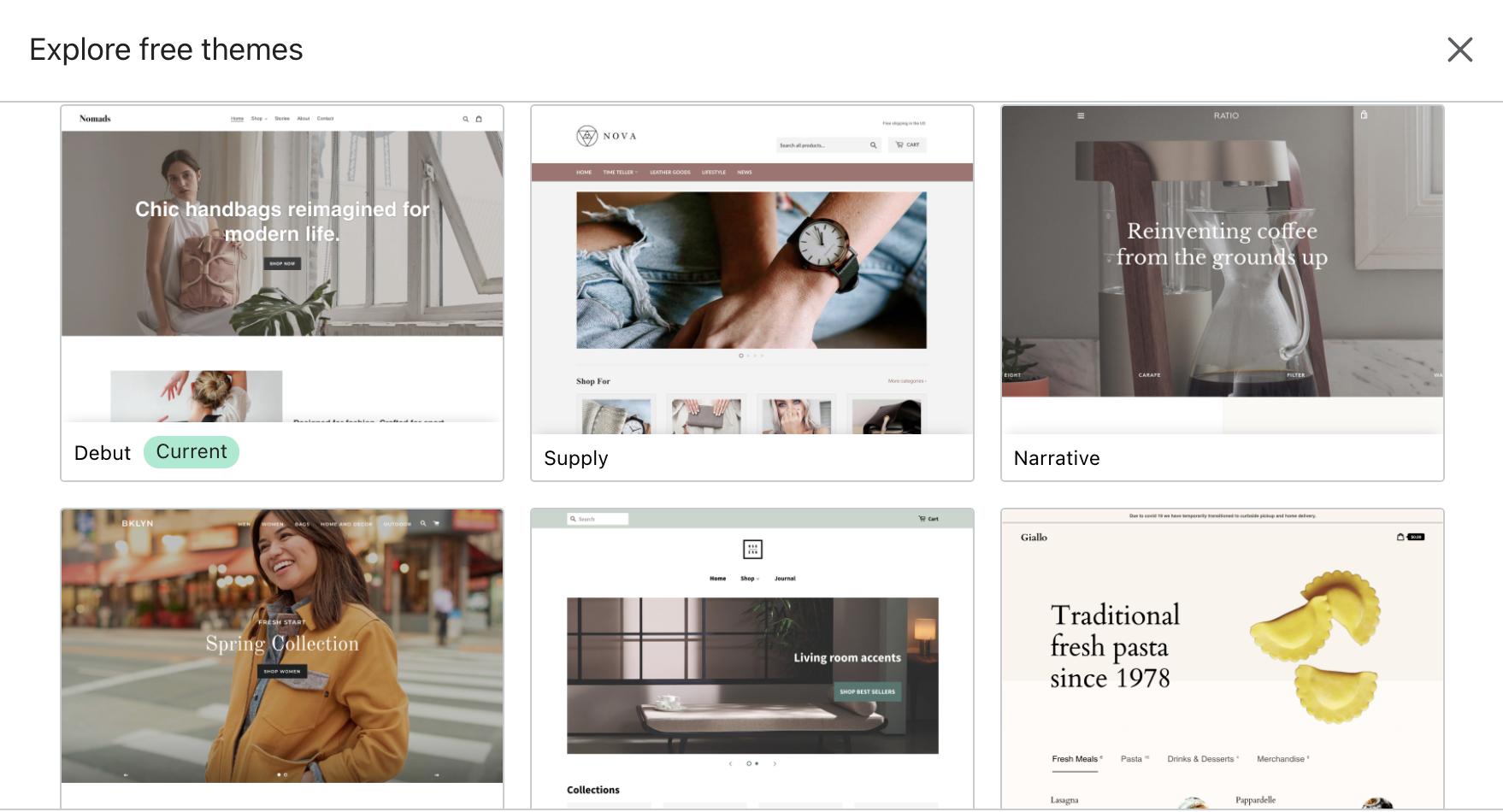 shopify themes wordpress vs shopidy for ecommerce