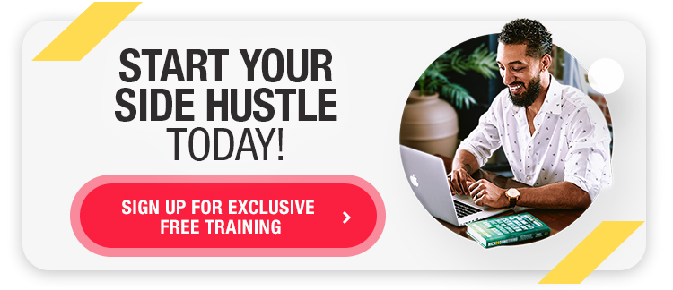 Banner for a free side hustle training