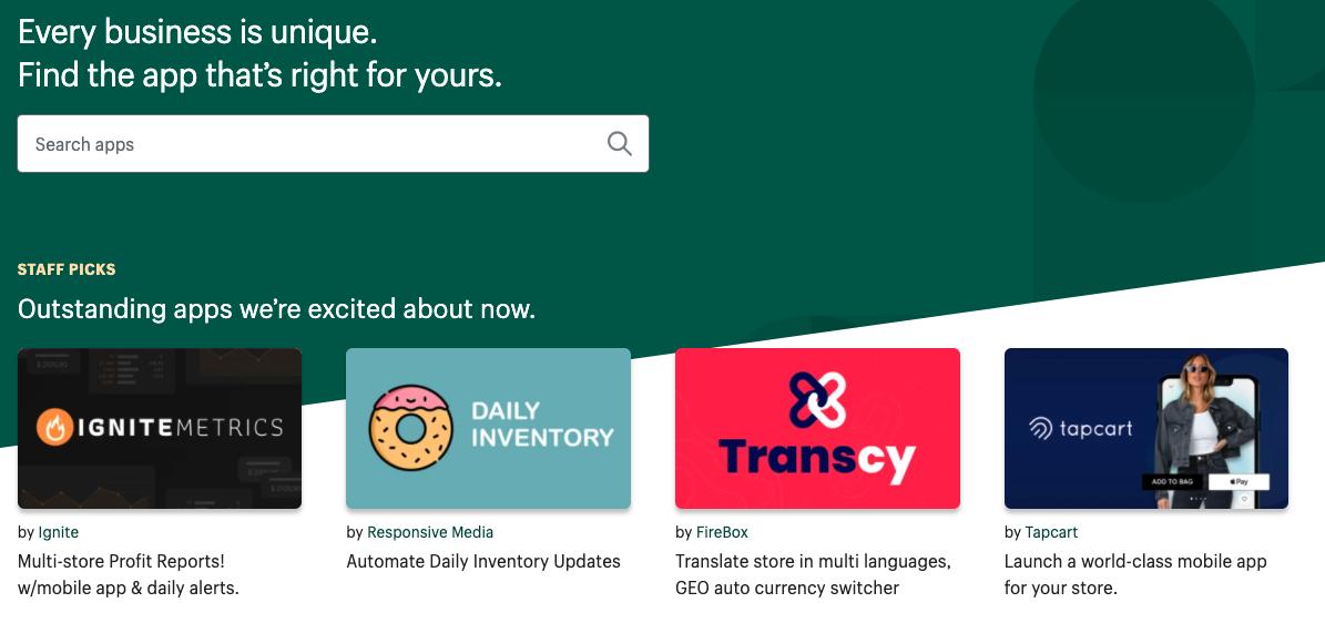 shopify app store wordpress vs shopify ecommerce