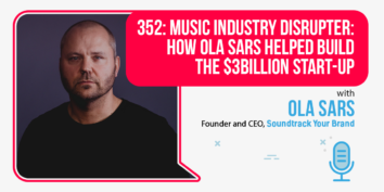 Ola Sars of Soundtrack Your Brand on the Foundr Podcast