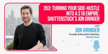 Jon Oringer of Shutterstock on the Foundr Podcast