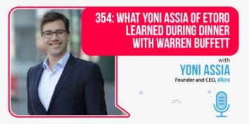 Yoni Assia of eToro on the Foundr Podcast